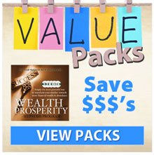 Value packs banner