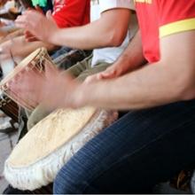 Tribal drummers